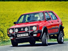 VW Golf Country mk2
