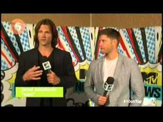 Older - Supernatural/Jared/Jensen on Ten On Top (they've been on this so many times and it makes me so happy.