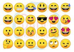 Molde de emojis para potinhos porta canetas