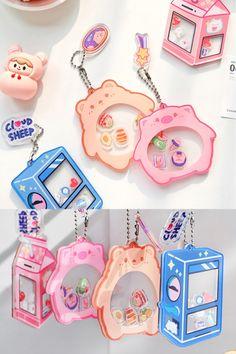 Acrylic Keychains, Acrylic Charms, Resin Charms, Cute Room Ideas, Cute Room Decor, Doremi Anime, Mode Kawaii, Diy And Crafts, Paper Crafts