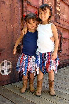 Items similar to Patriotic Sewn Scrap Fabric Tutu on Etsy Cute Outfits For Kids, Toddler Outfits, Cute Kids, Girl Outfits, Fabric Tutu, Scrap Fabric, Fabric Scraps, Tutus For Girls, Kids Girls