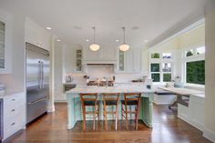 Kirkland Residence Kitchen - craftsman - kitchen - seattle - by First Lamp