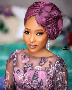 Image may contain: 1 person, possible text that says 'LBV makeovers' African Head Scarf, African Head Wraps, Hair Wrap Scarf, Hair Scarf Styles, Scarf Hairstyles, African Hairstyles, Mode Turban, Bridal Makeover, African Traditional Dresses