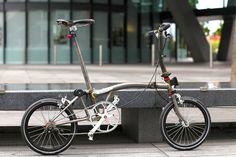 Phoenix Cycles | Brompton Bicycles Battersea London Raw Stee… | Flickr