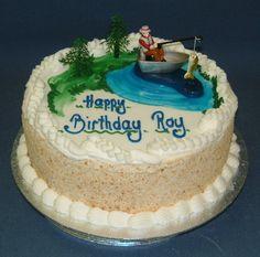Fishing Boat Birthday Cake Cakes Pinterest Fishing Boats - Fishing boat birthday cake