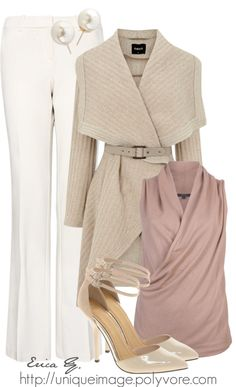 """""""GUCCI Sleeveless Blouse"""" by uniqueimage ❤ liked on Polyvore"""