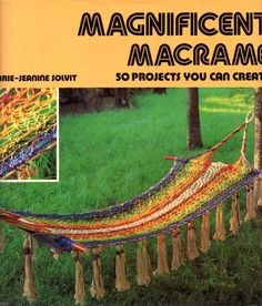 Magnificent Macrame - pinned by pin4etsy.com