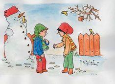 Versek, mesék a hóemberről - kovacsneagi.qwqw.hu Winter, Painting, Winter Time, Painting Art, Paintings, Painted Canvas, Drawings, Winter Fashion