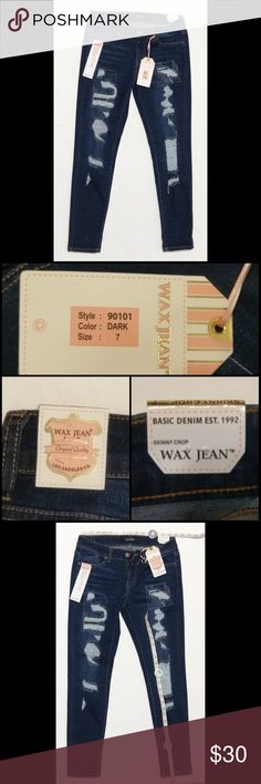 """🆕 Wax Jean 