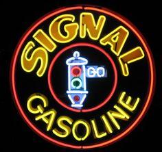 Signal Gasoline Neon Sign - myneonhaven.com