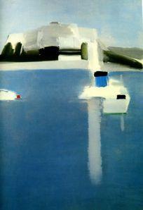 paintings by Russian artist Nicolas de Stael