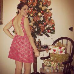 Vestido Grace #modafesta #festa #moda #renda #vestido #natal #look #rosa