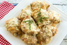Chicken With Mustard Mascarpone Sauce