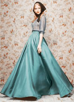 debut fall/winter 2011 collection by russian photographer turned designer ulyana sergeenko