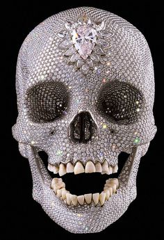 Show Your SPARK: Damien Hirst's Diamond Encrusted Skull....AMAZING!!!!
