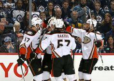 Ducks Flying Towards the Playoffs Anaheim Ducks, A Team, Nhl, Motorcycle Jacket, Hockey, Articles, Memes, Animal Jokes, Biker Jackets