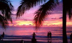 Couples Swept Away: Beautiful sunsets