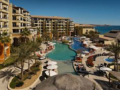 In the heart of Médano Beach in Cabo San Lucas, Casa Dorada Los Cabos Beach Resort is a luxurious getaway offering the perfect combination of great location and outstanding amenities. Enjoy the beautiful Land's End views, savor some fine dining or stroll the warm sands - paradise! #Mexico #Travel