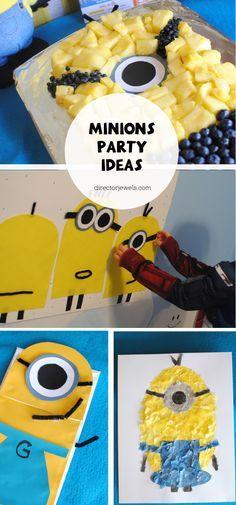 Minions Party Ideas | Minions Despicable Me Party Ideas #MinionsMovieNight #ad