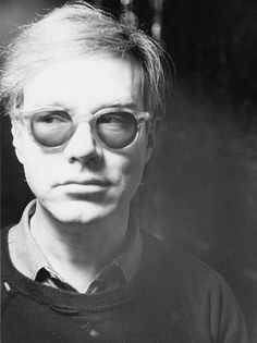 Andy Warhol photographed by Lorenz Gude, 1964.