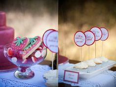 Red Riding Hood Inspired Wedding Theme