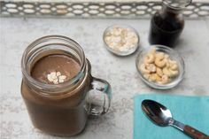Need a morning pick-me-up? Try Banana Brew, a delicious combination of sweet smoothie taste and energizing coffee flavor! It's like a rich, creamy frappe without all the added sugar and fat that weigh you down. Instead, we've added cashe. Banana Coffee, Coffee Cake, Coffee Creamer, Coffee Packaging, Coffee Branding, Nutribullet Recipes, Smoothie Recipes, Smoothies, Cream Of Broccoli Soup
