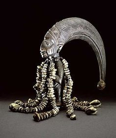 the sea God of the Yorubas. Olokun