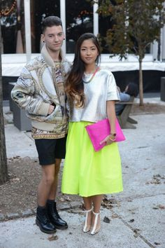 Street Style From NYFW: Amazing and Outrageous | Moda and Estilo