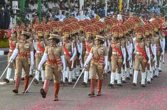 indilivenews: India showcases military might, cultural heritage ...