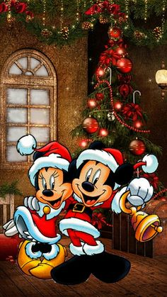 merry christmas Wallpaper by - ef - Free on ZEDGE™ now. Browse millions of popular merry christmas Wallpapers and Ringtones on Zedge and personalize your phone to suit you. Browse our content now and free your phone Christmas Phone Wallpaper, Xmas Wallpaper, Christmas Images Wallpaper, Trendy Wallpaper, Mickey Mouse Christmas, Christmas Cartoons, Mickey Mouse Wallpaper, Disney Wallpaper, Christmas Scenes