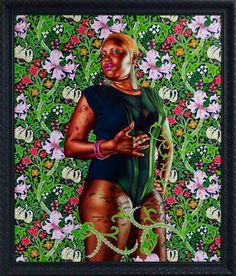 New York based artist Kehinde Wiley - Jamaica 2