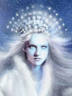 ❄ A MidWinter's Night's Dream ❄...Snow GIF...By Artist Unknown...
