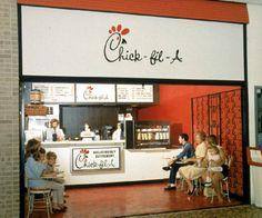 Chick-Fil-A - Greenbriar Mall - Atlanta - 1967
