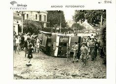 Vuelco tranvía de la Alameda al Carmen  Málaga