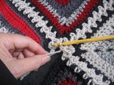 Flat Braid 3-Ch Crochet Join Tutorial