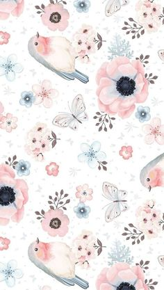 Wallpaper Nature Phone Art Prints Ideas For 2019 Wallpapers Tumblr, Tumblr Wallpaper, Cute Wallpapers, Cream Wallpaper, Flower Wallpaper, Pattern Wallpaper, Painting Wallpaper, Cute Backgrounds, Wallpaper Backgrounds
