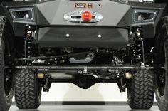 2014 Jeep Wrangler Unlimited with Gloss Black Kevlar Exterior: Custom Lift Kit