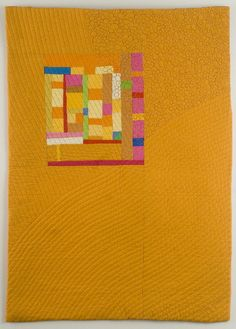 Amber Harvest, 2009, Cindy Grisela.  Awarded Juror's Choice at Art Quilts Lowell 2010.