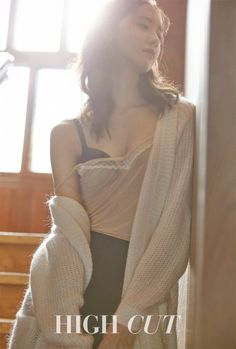 Girls' Generation member Yoona posed in lingerie for fashion and beauty magazine HIGH CUT. Yoona has generally held a very innocent and graceful image, but for HIGH CUT's photoshoot, she poses in lingerie while not revealing too much. Sooyoung, Yoona Snsd, Girls Generation, Korean Beauty, Asian Beauty, Korean Girl, Asian Girl, Idole, Jessica Jung