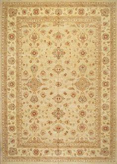 Peshawar 5th Avenue Beige Beige Wool   Rug