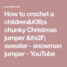 a4f64088e376 How to crochet an EASY children s sweater   hoodie   jacket ...