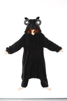 Amazon.com: Black Sheep Kigurumi Cushzilla Animal Adult Anime Costume Pajamas: Clothing