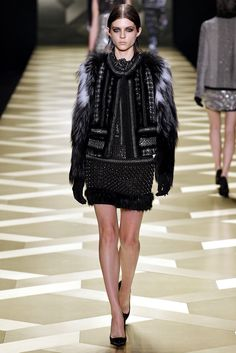 Roberto Cavalli Fall 2013 Ready-to-Wear Fashion Show - Kel Markey