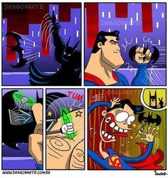 La ruse et la technologie : les points forts de Batman dans 23 bandes dessinées hilarantes sur le quotidien des super-héros ! Votez pour les plus drôles !