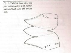 One-piece shoe pattern