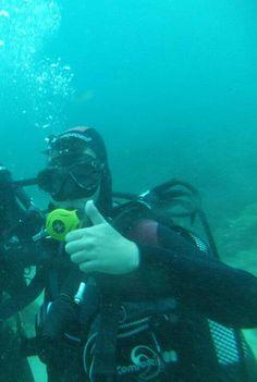 Nous ne savons pas quoi faire aujourd'hui et nous sommes venus pour essayer la #plongée en #costabrava ! Vivez des nouvelles #sensations