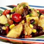 Southwestern Black Bean Potato Salad