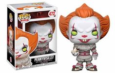STEPHEN KING ONLY: Il nuovo Pennywise in 4 versioni Funko Pop!