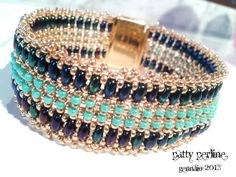 Bracciale Camilla Italian and English Pattern door PattyPerlineShop,