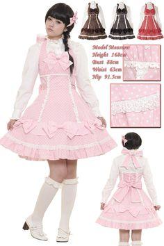 l262 - Jumper skirt - Lolita